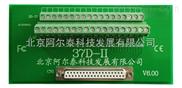 阿尔泰-适用于全部37芯D型头接口的采集卡,可上导轨,附带37芯电缆线