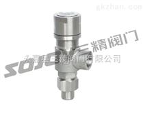 A21F、A21H-C弹簧微启式外螺纹安全阀