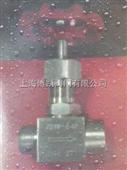 上海博凯J21W压力表截止阀