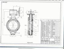船用双偏心蝶阀 GB/T3037-94
