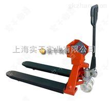 2吨液压叉车电子秤价格 手动液压铲车秤