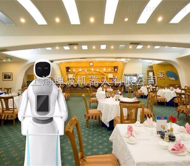 上海高级新款第六代送餐机器人上市