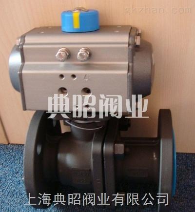碳钢气动球阀Q641F-16C  上海典昭厂家