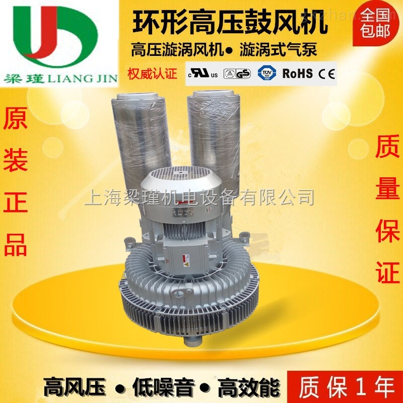 双叶轮高压风机-双段式旋涡鼓风机-双极漩涡气泵厂家价格