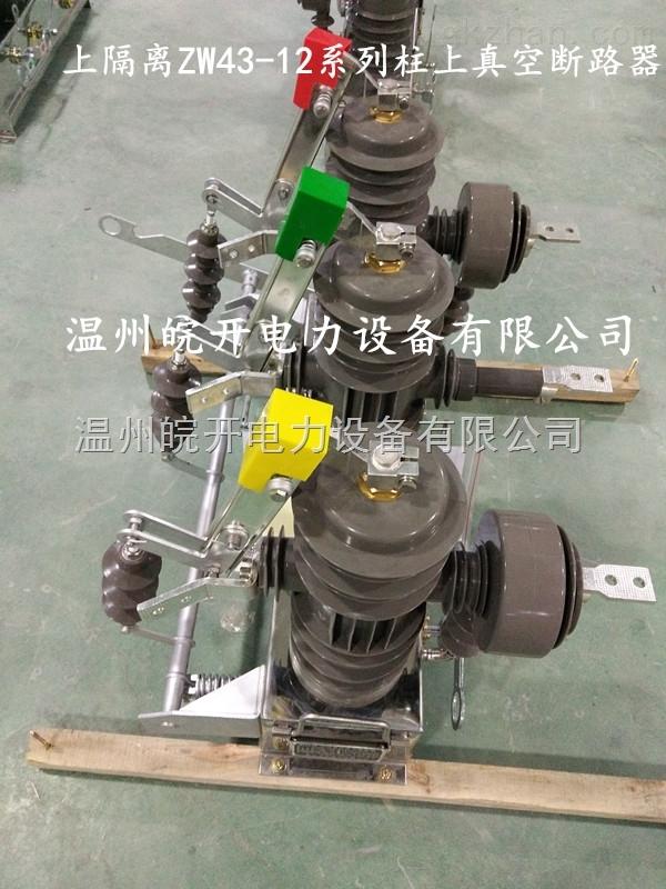 柱上高压真空断路器ZW43-12DG/630