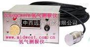 (WLY)中西氢气测报仪(盘装式)/测氢仪/氢气报警仪 国产