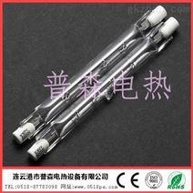 双螺旋卤素发热丝-双螺旋卤素钨丝加热管价格-透明石英螺旋丝灯管