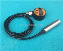 电池供电数字液位传感器LCD显示 峰值保持 液位百分比动态显示