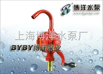 油桶泵手摇插桶泵-上海博洋水泵厂