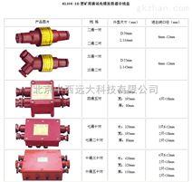 矿用通讯电缆连接器分线盒(4通5对) 型号:CM10-KLH4