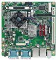 研华MINI-ITX工业母板AIMB-223 6个COM输出接口,双千兆网口