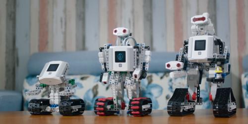 革命性触摸屏设计 积木机器人开启机械创意空间