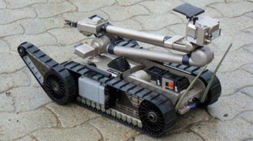 军事机器人发展积极向前 美国俄罗斯领先全球