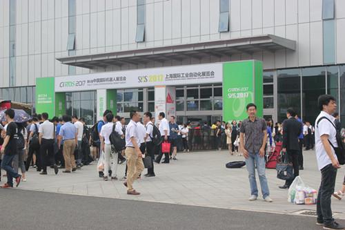 CIROS 2017第6届中国机器人展览会盛大开幕