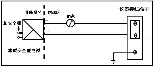 3接线方式 24v四线制接线如下图