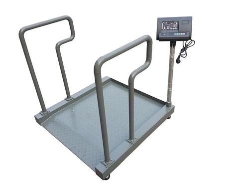 仪陇县中医院也采购我司S605轮椅称使用