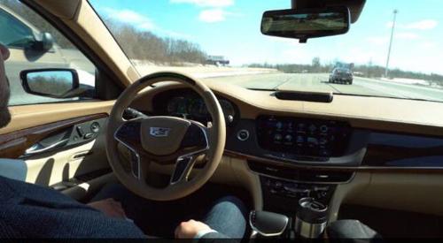 挑战特斯拉 通用新款凯迪拉克将启用自动驾驶系统