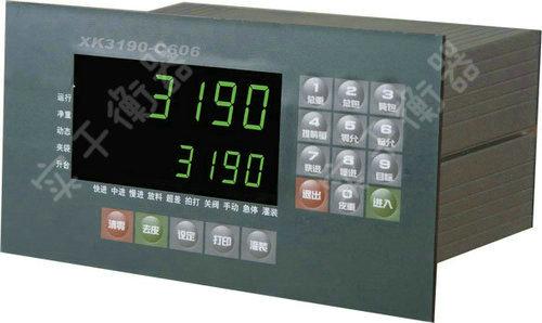 XK3190-C606称重显示器