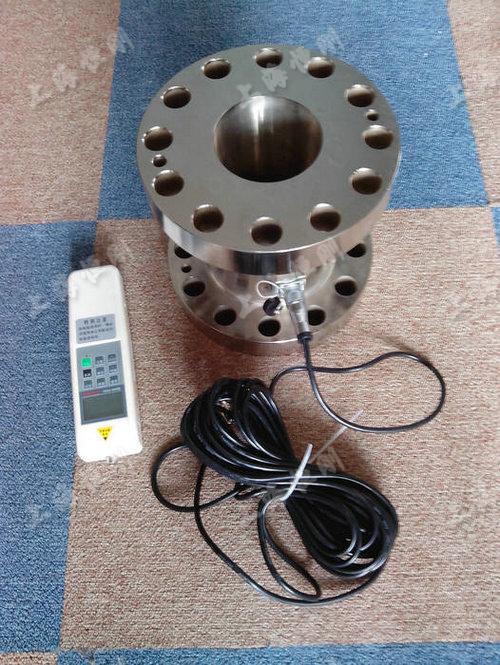 法兰拉压力小型测力仪  量程10KN -100KN