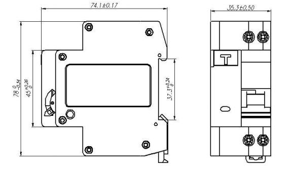主要作为终端组合电器中的总开关, 也可作为线路的不频繁转换之用.