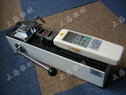 電源線拉力試驗機圖片    可配置SGHF數顯推拉力計